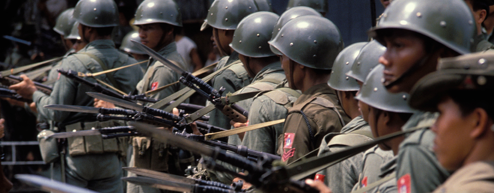 The Burmese Army is committing crimes against humanity