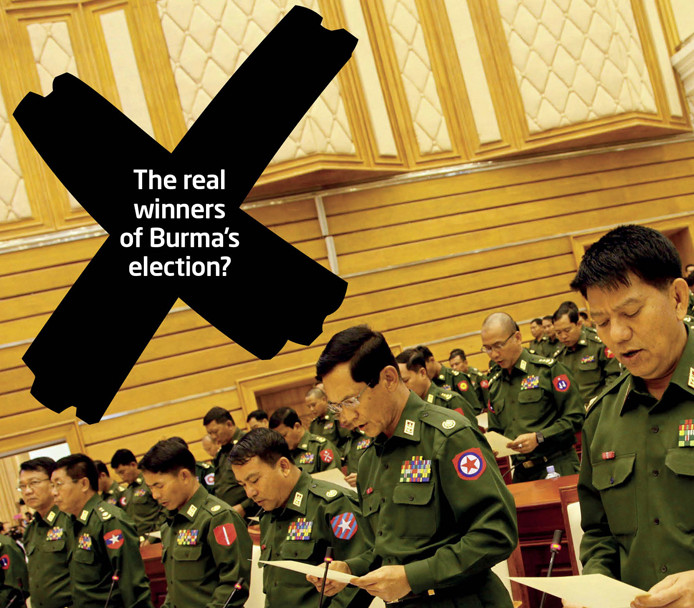 New election Briefing Paper - Constitution ensures continued military control
