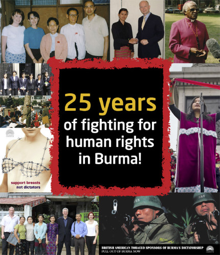 25 years fighting for human rights in Burma