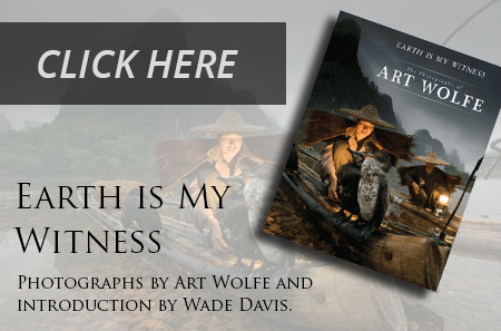 Pre-Order Art Wolfe's News Letter