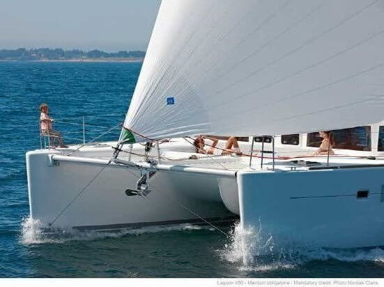 2013 Lagoon 450 name aquamarine for sale by catamaran guru