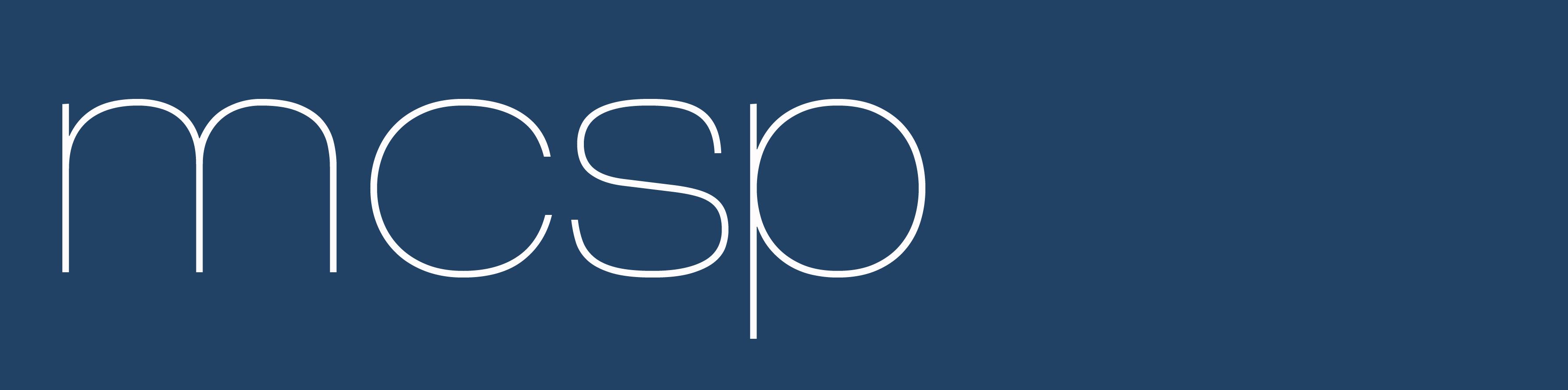 MCSP logo