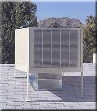 swamp cooler pros and cons evaporative cooling system colorado