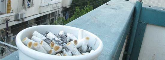 NSW Cigarette butt litter