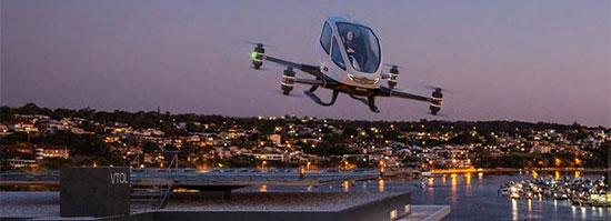 WA Flying Car Launch Pad