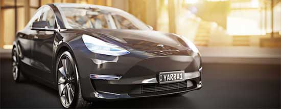 Yarra Tesla Car Sharing