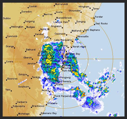 Sydney Wild Weather