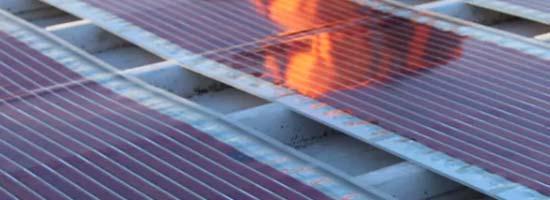 Print solar panels