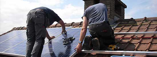 WA Solar Panel Installation