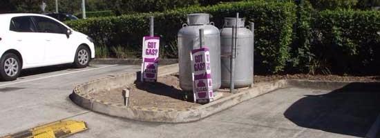 Gas storage strata