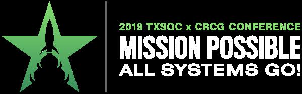 2019 TXSOC x CRCG Conference