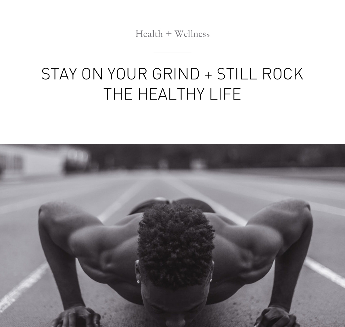 Stay On Your Grind