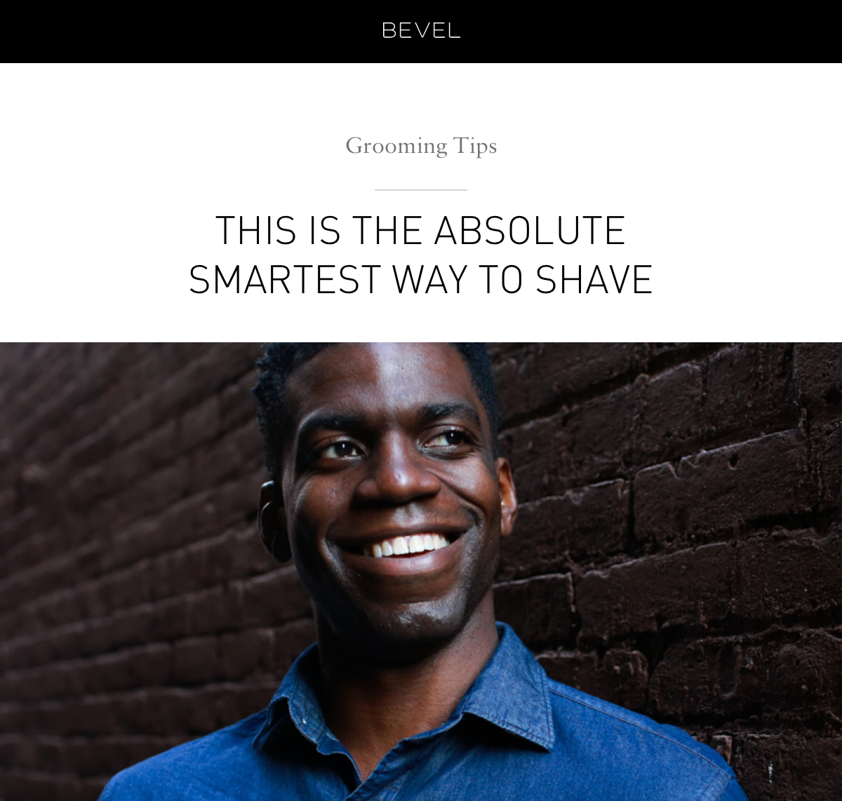 This Is The Absolute Smartest Way To Shave