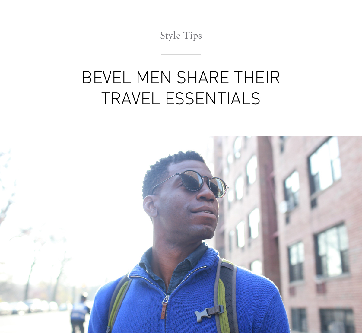 Style Tips: Travel Essentials
