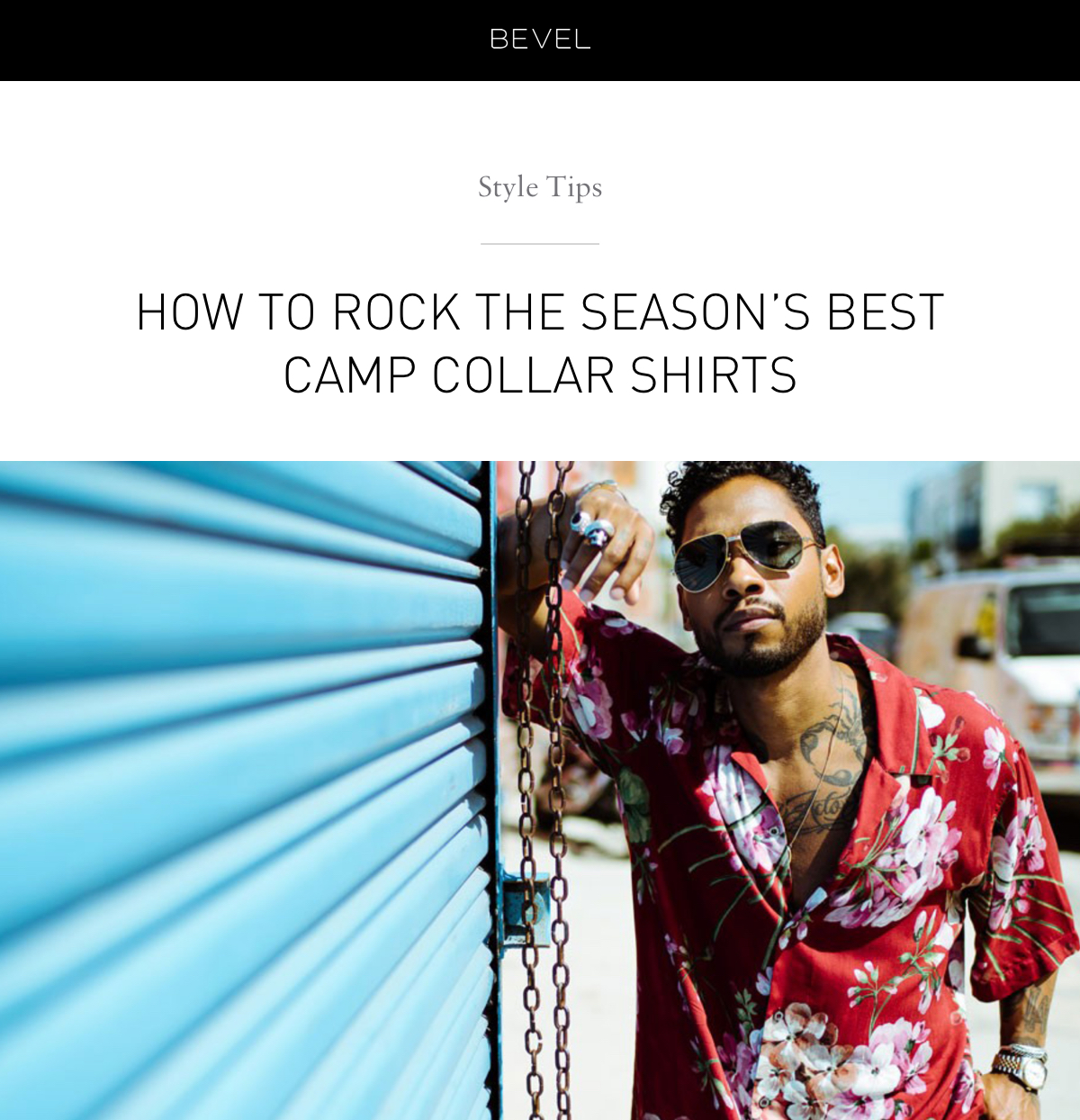 Style Tips: How to rock the season's best camp collar shirts
