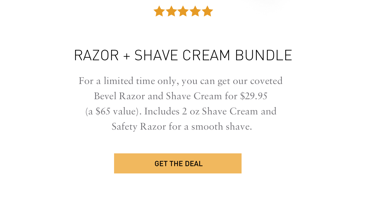Get the deal of a lifetime for just $29.95