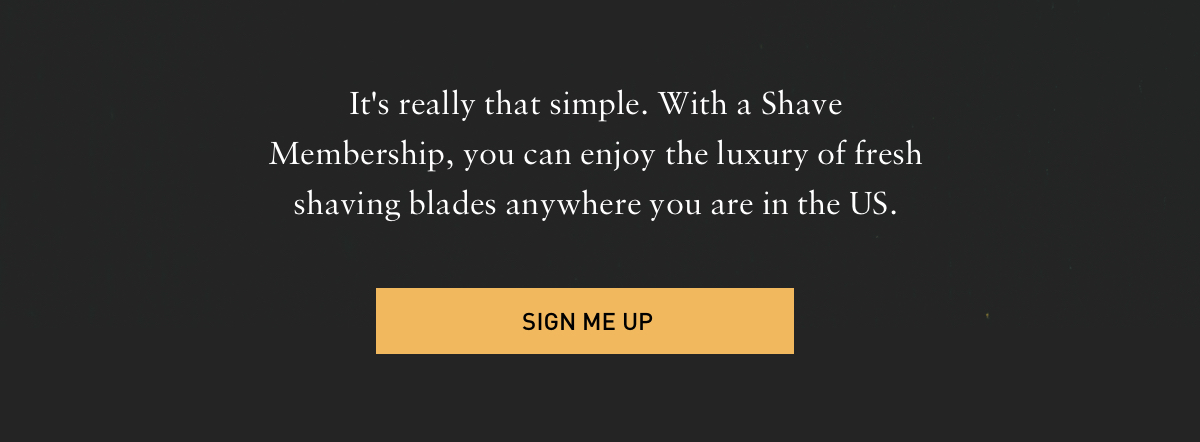 Sign me up for that Bevel Subscription!