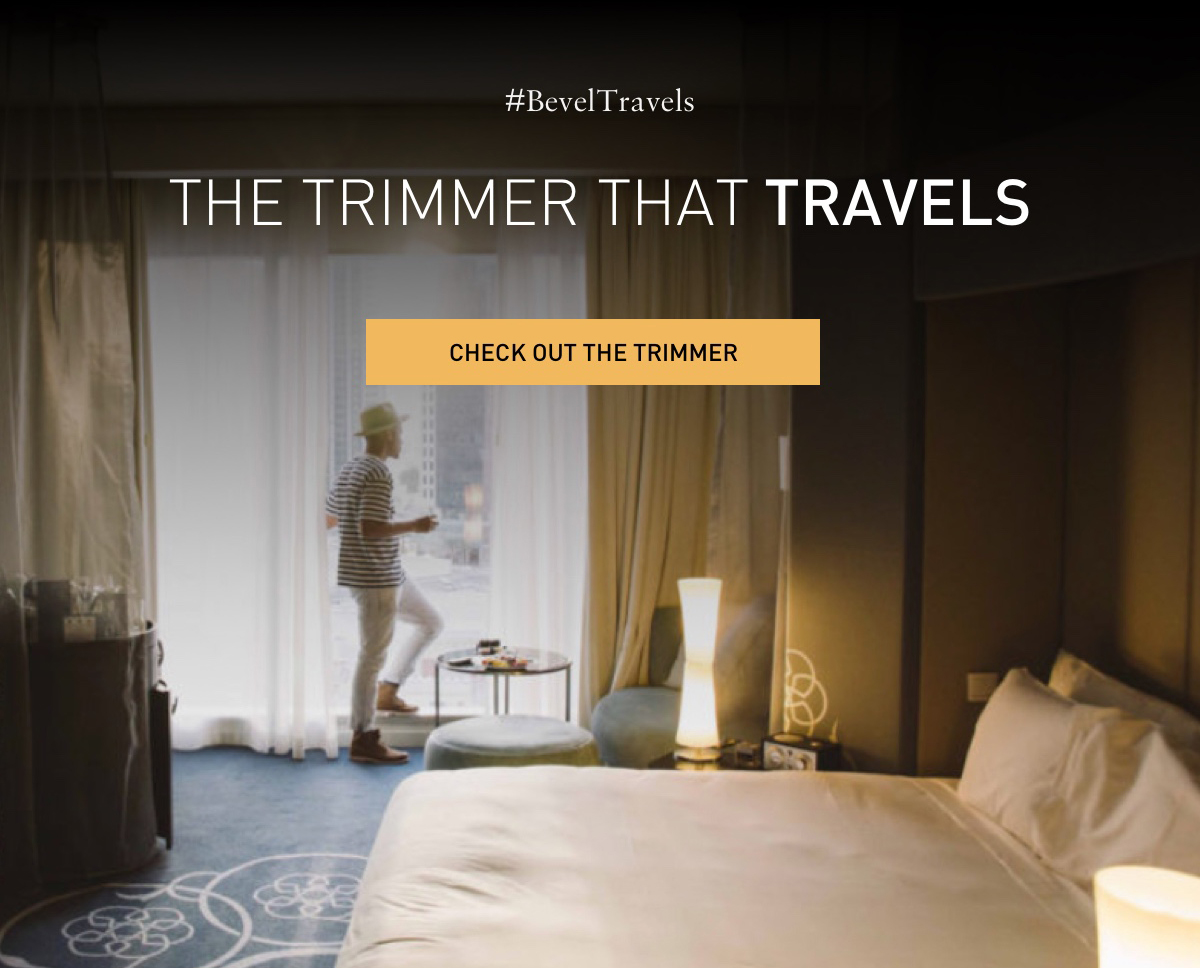 #BevelTravels THE TRIMMER THAT TRAVElS. CHECK OUT THE TRIMMER