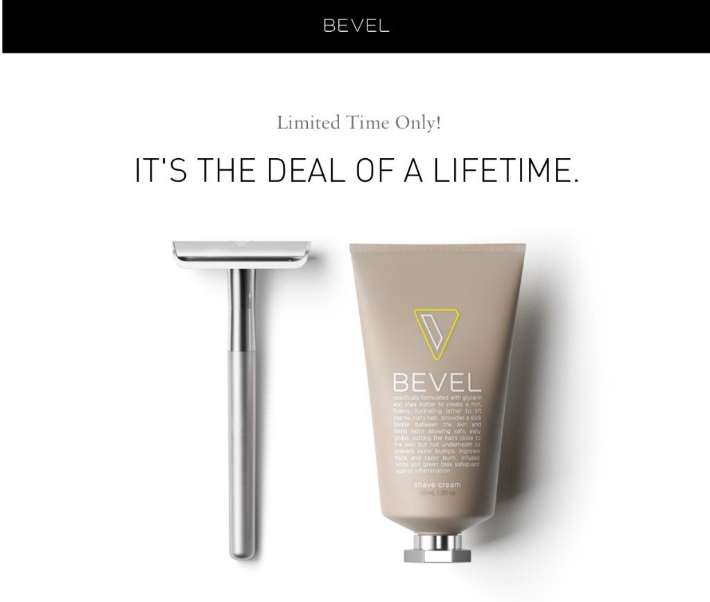 Limited Time: Safety Razor and Shave Cream for $29.95