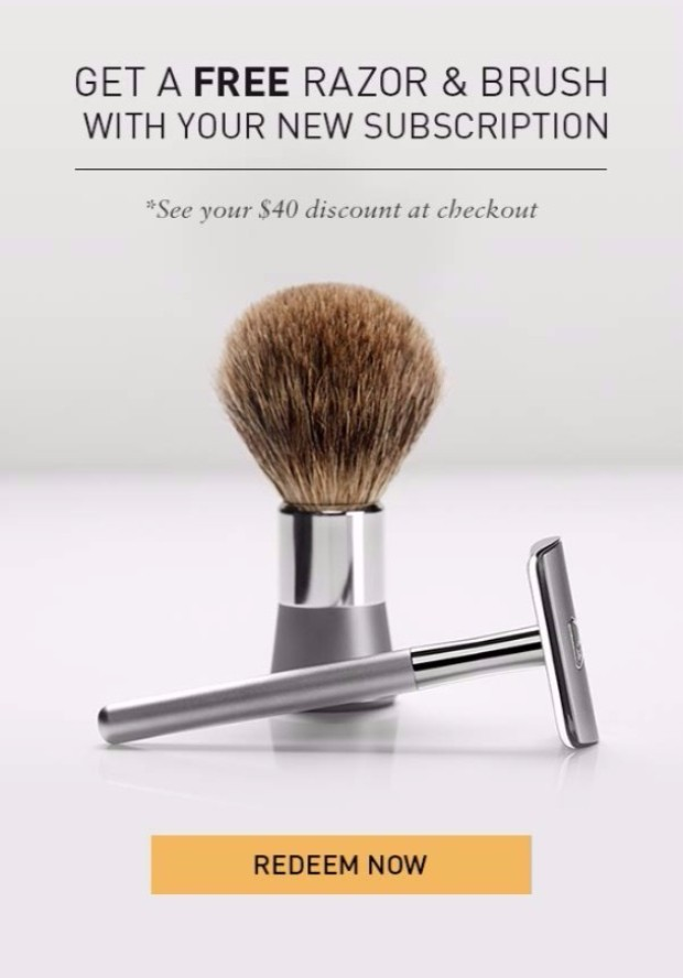 Reduce Razor Bumps: Bevel Shave System.