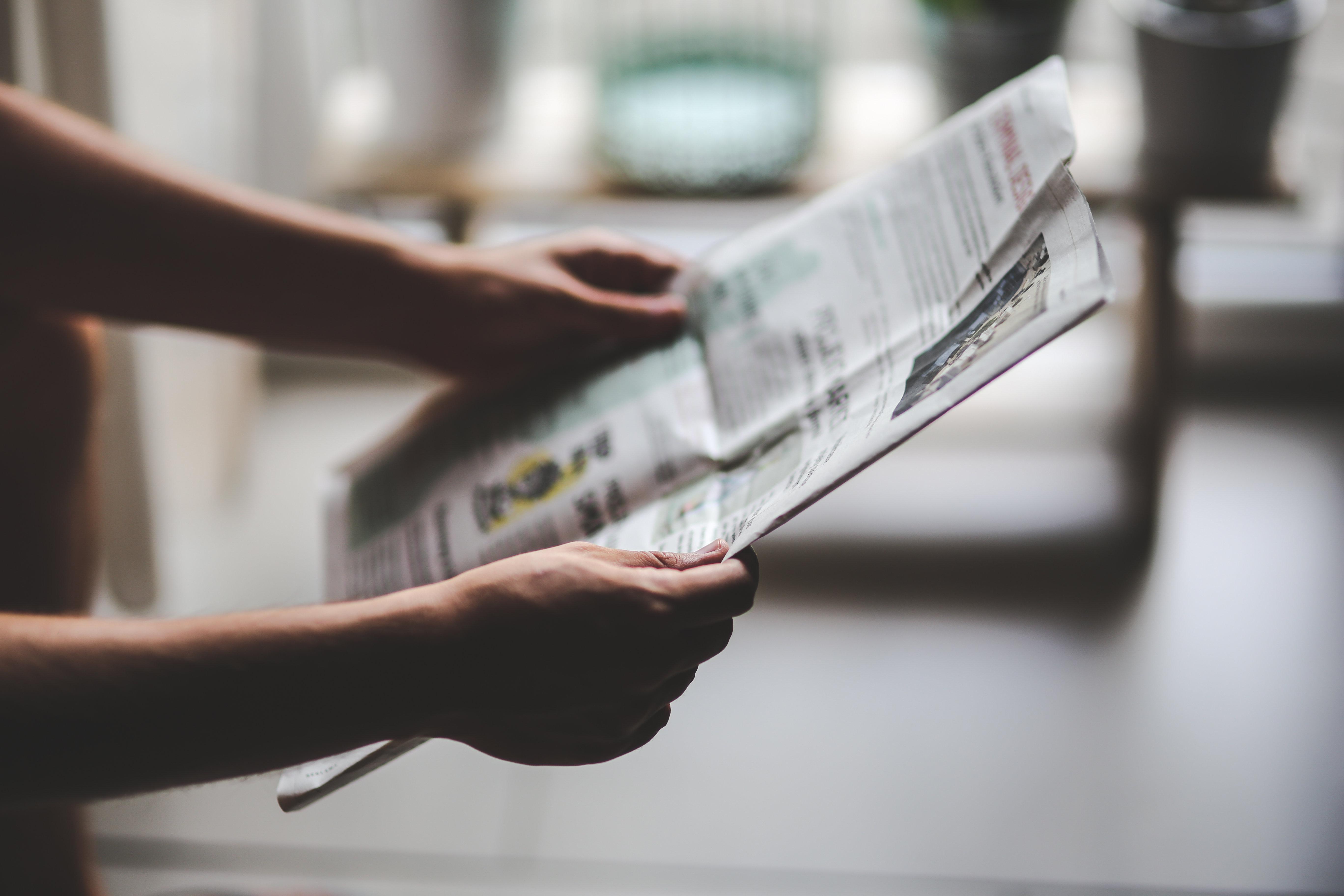 Newspaper - CC0 Public domain