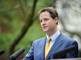 Nick Clegg: not keen on Community Politics