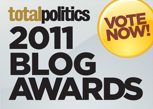 Total Politics blog awards logo