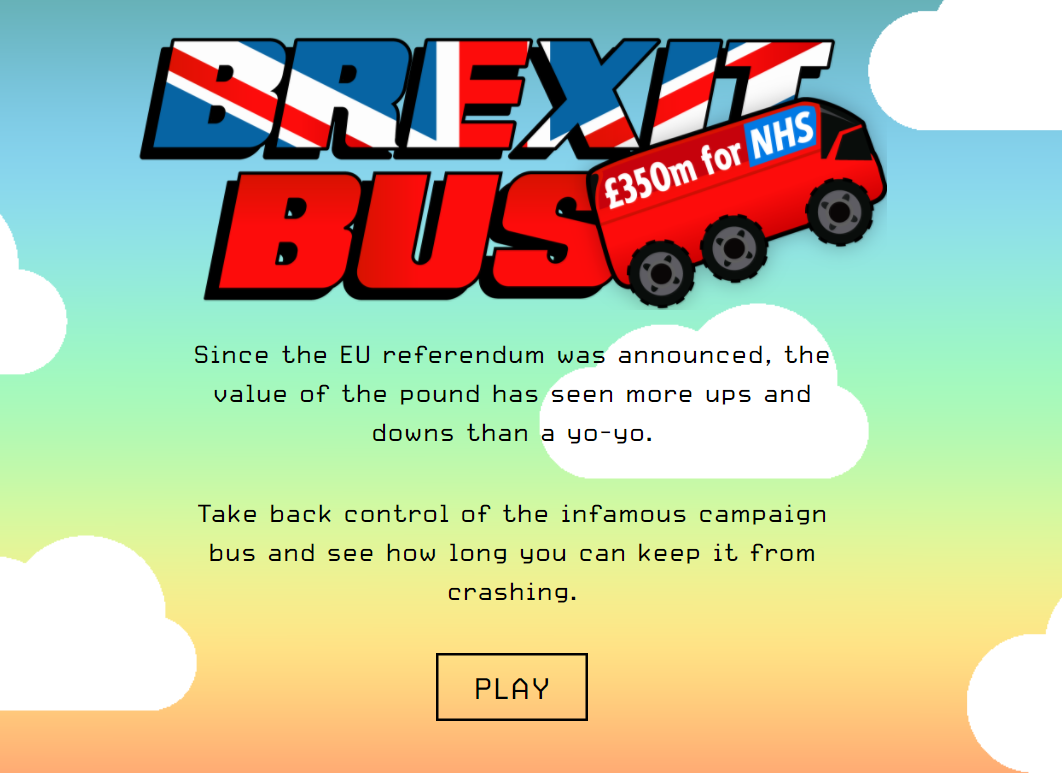 Play the Brexit Bus game