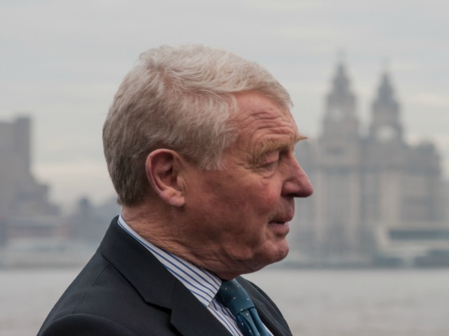 Paddy Ashdown in north west England