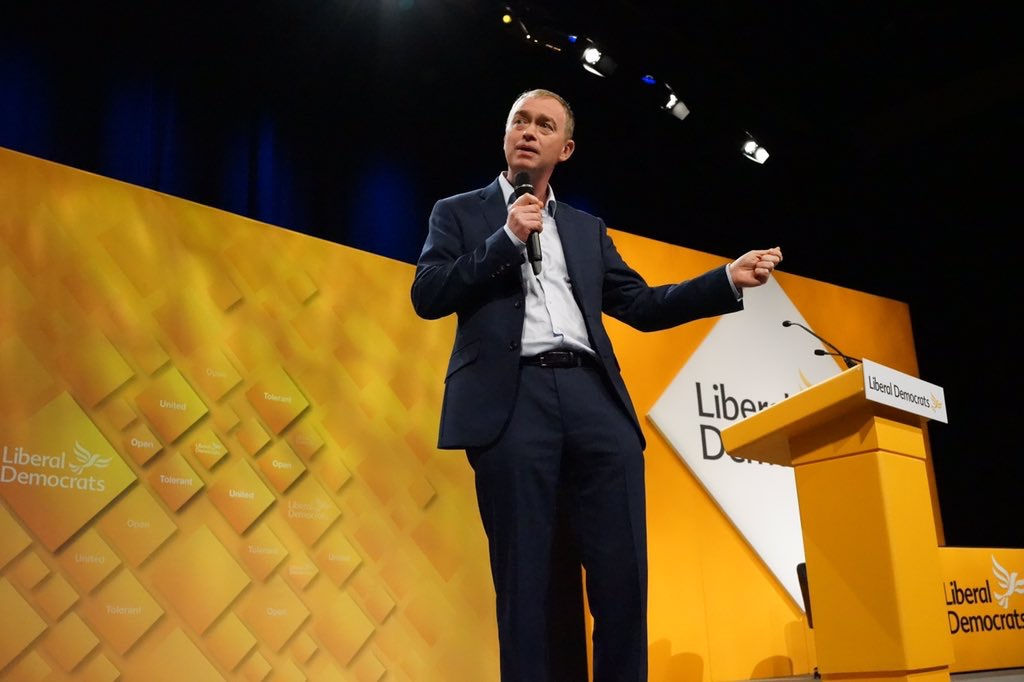 Tim Farron - photo courtesy of the Lib Dems CC BY-ND 2.0