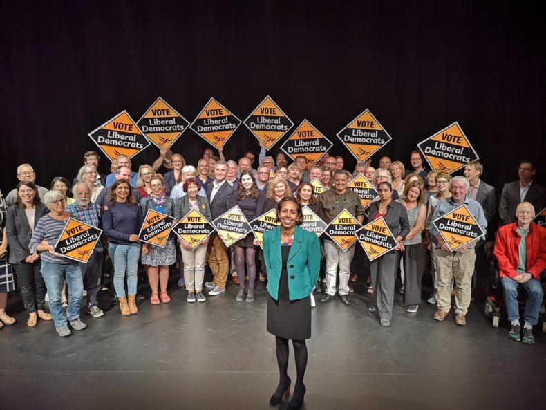 Munira Wilson and Twickenham Liberal Democrats