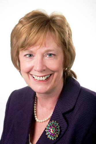 Dorothy Thornhill, elected Mayor of Watford