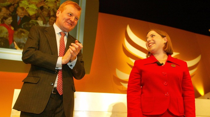 Charles Kennedy and Sarah Teather