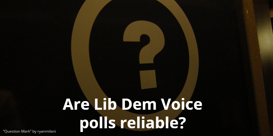 Are LDV polls reliable?