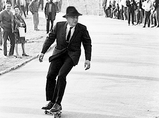 Vince Cable on a skateboard - photo mockup courtesy of Jack Holroyde