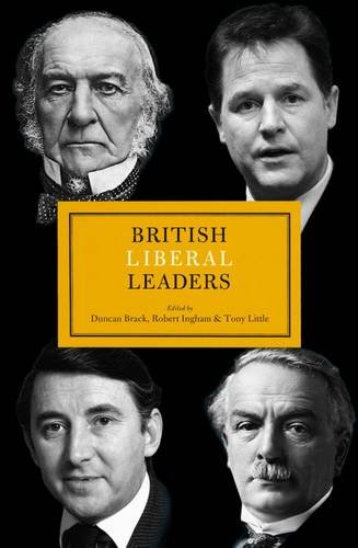 British Liberal Leaders - book cover