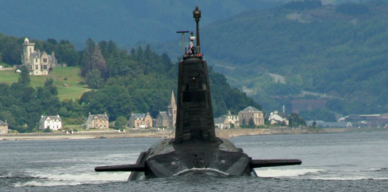 Trident submarine via Wikimedia Commons - Attribution-Share Alike 2.0 Generic license