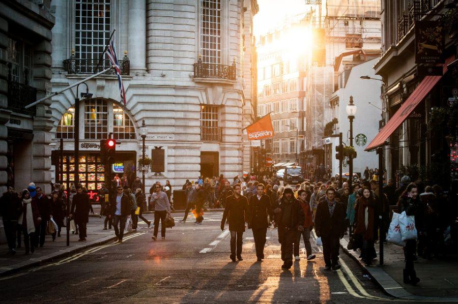 A city shopping street - CC0 Public Domain