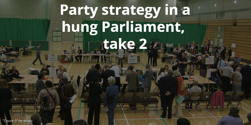 Hung Parliament strategy