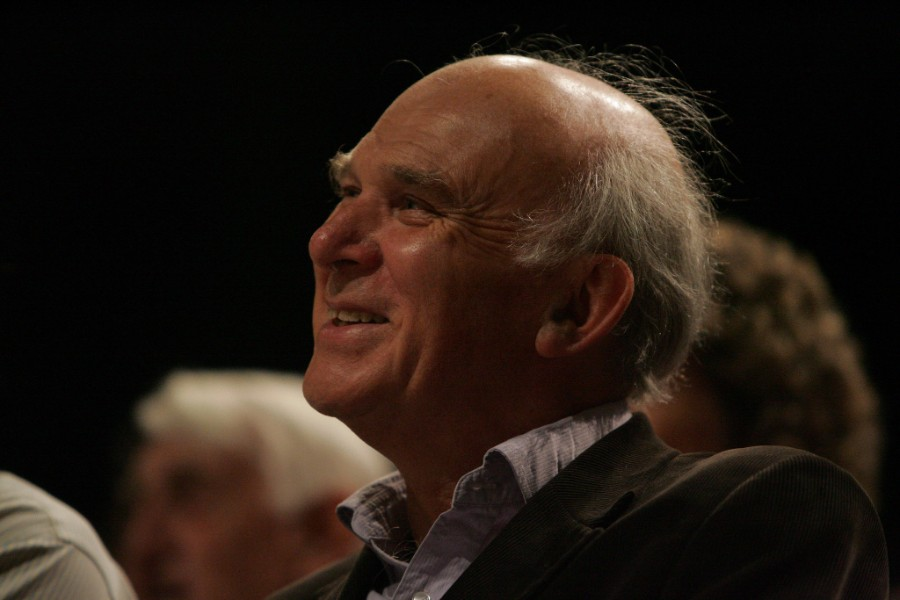 Vince Cable - photo courtesy of Lib Dems CC BY-ND 2.0