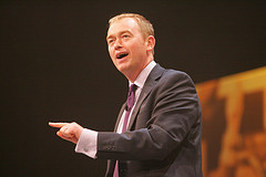 Outgoing Party President Tim Farron