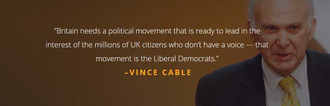 Vince Cable quote on proposed party reforms