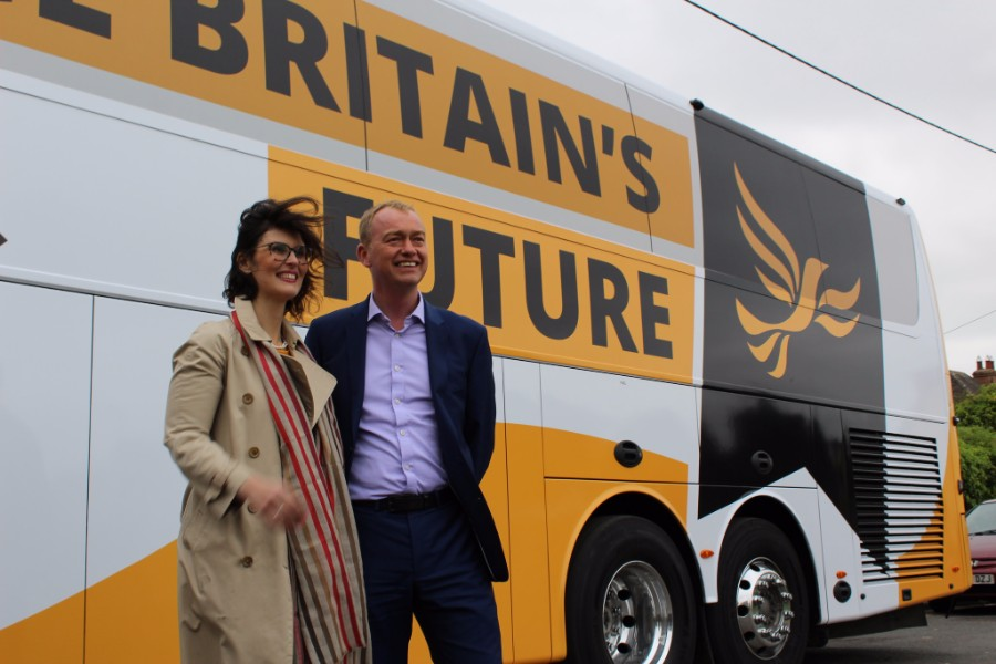 Tim Farron and Layla Moran - photo courtesy of the Lib Dems CC BY-ND 2.0