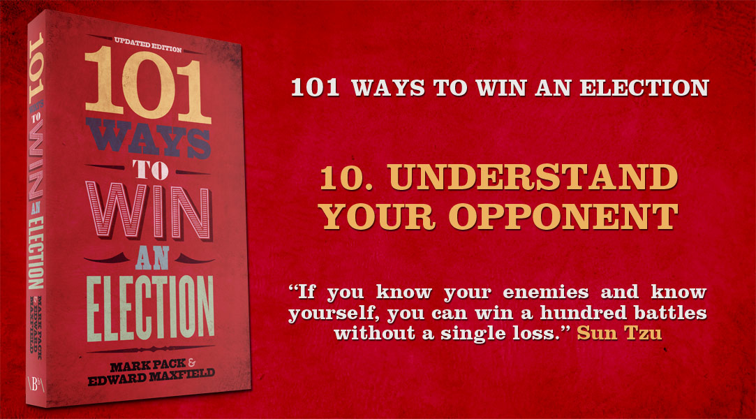 101 Ways To Win An Election: Chapter 10