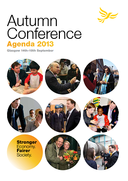 Autumn 2013 Conference Agenda Booklet: cover
