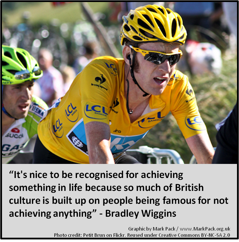 Bradley Wiggins on fame