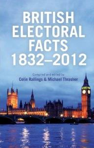 British Electoral Facts 1832-2012 - book cover