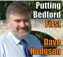 Dave Hodgson: victorious in Bedford
