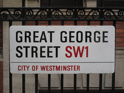 Great George Street: home to the Liberal Democrat HQ