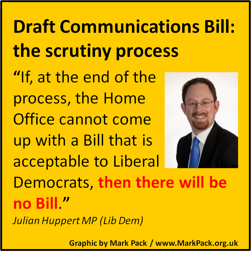 Julian Huppert threatens to block Communications Data Bill